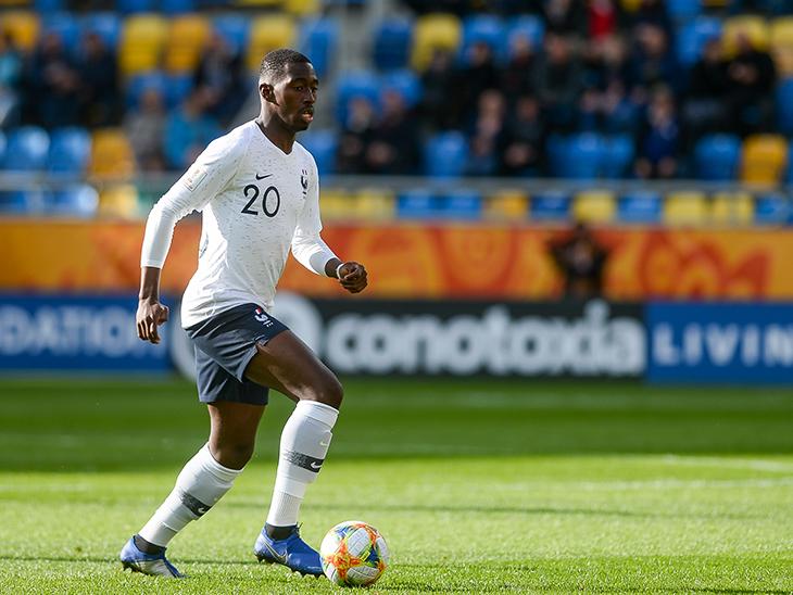 La France U20 de Bouba' Soumaré démarre bien | Lille LOSC